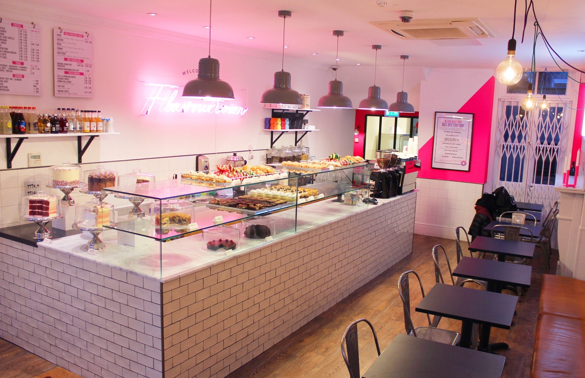 Flavourtown Bakery Now Open In Fulham Road Lewis Craig